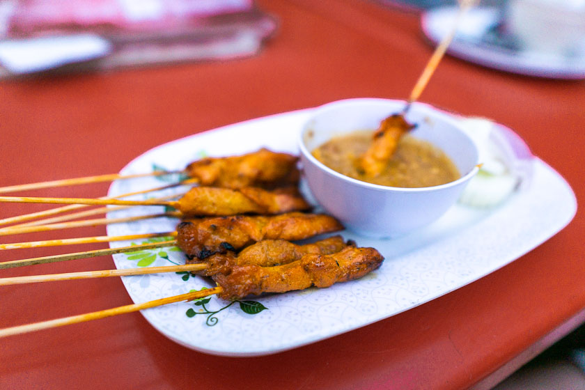 Satay at Jalan Alor.
