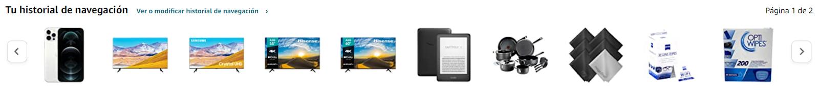 personalizacion ecommerce amazon