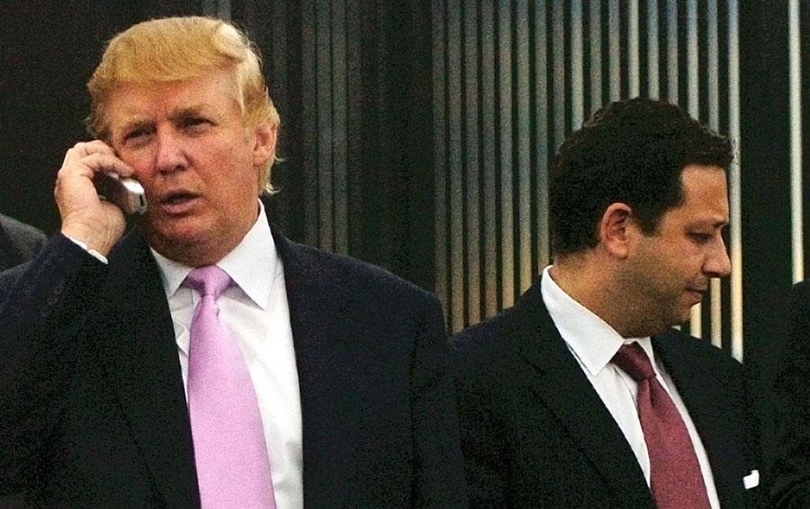 Дональд Трамп и Феликс Сатер (слева направо)