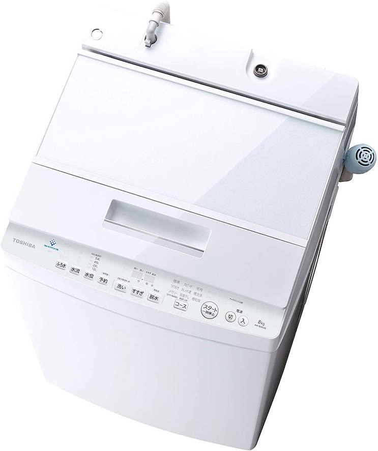 東芝 洗濯機ウルトラファインバブル洗浄