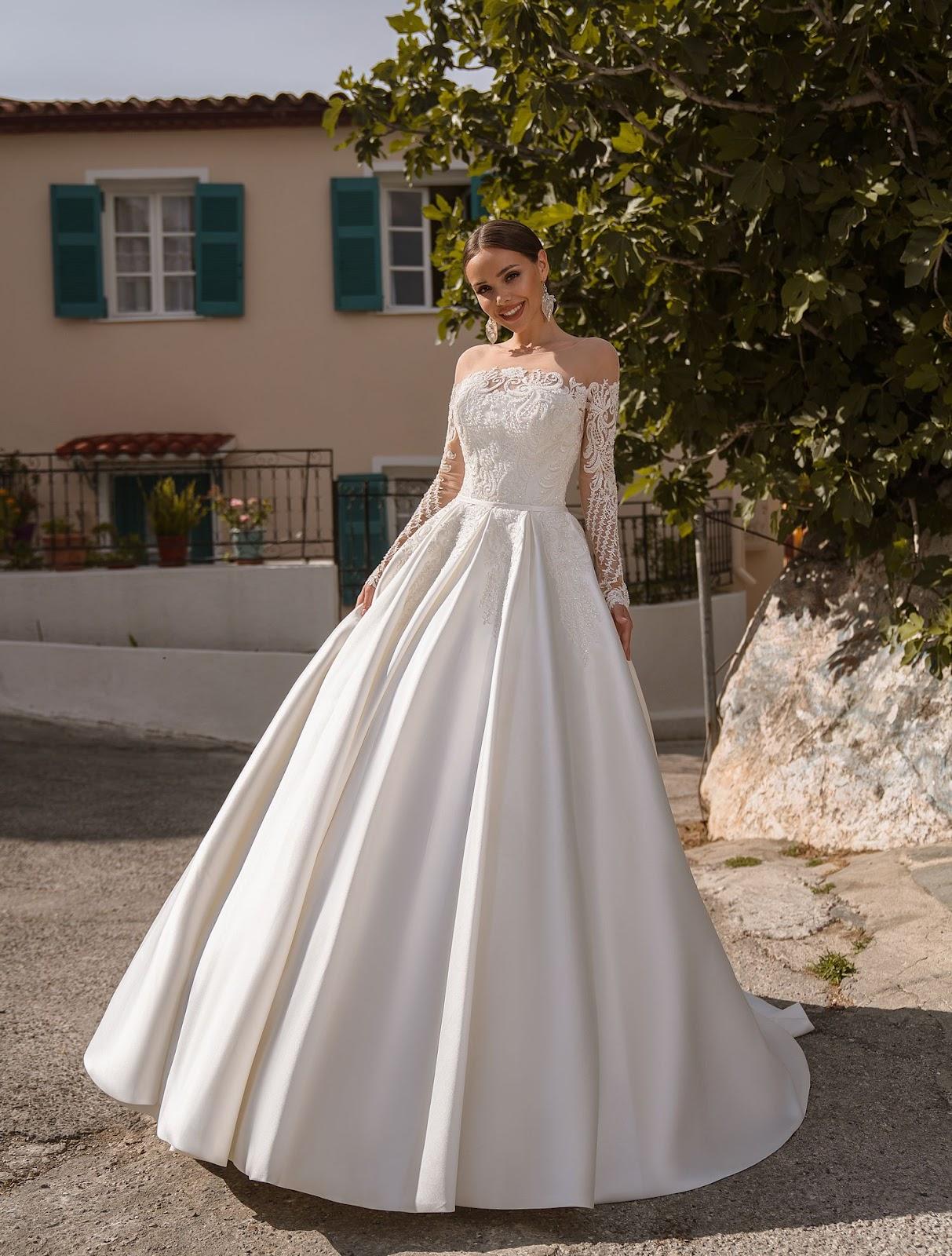 Пышное свадебное платье 2020