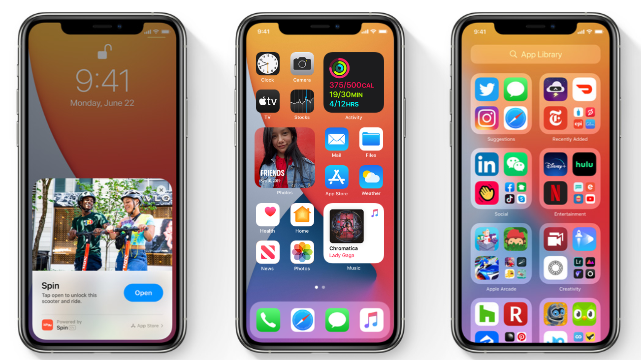 apple home screen