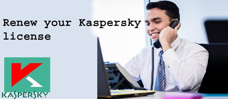 Renew Kaspersky License