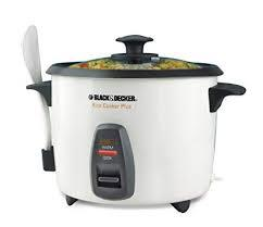 BLACK PLUS DECKER RICE COOKER AND STEAMER