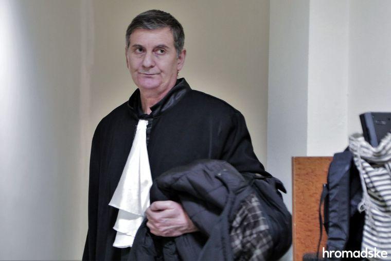 Болгарский адвокат Алексея Левина Пламен Мавров в здании Апелляционного суда города Бургас, 11 марта 2020 года