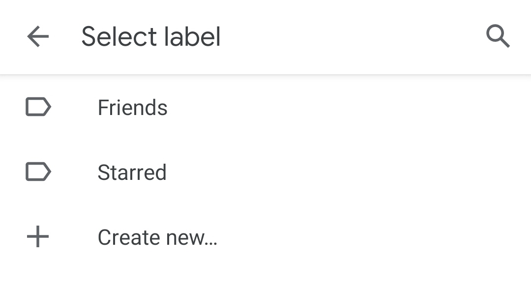 Add to label