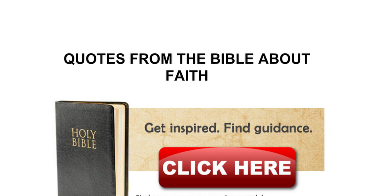 bible and gods
