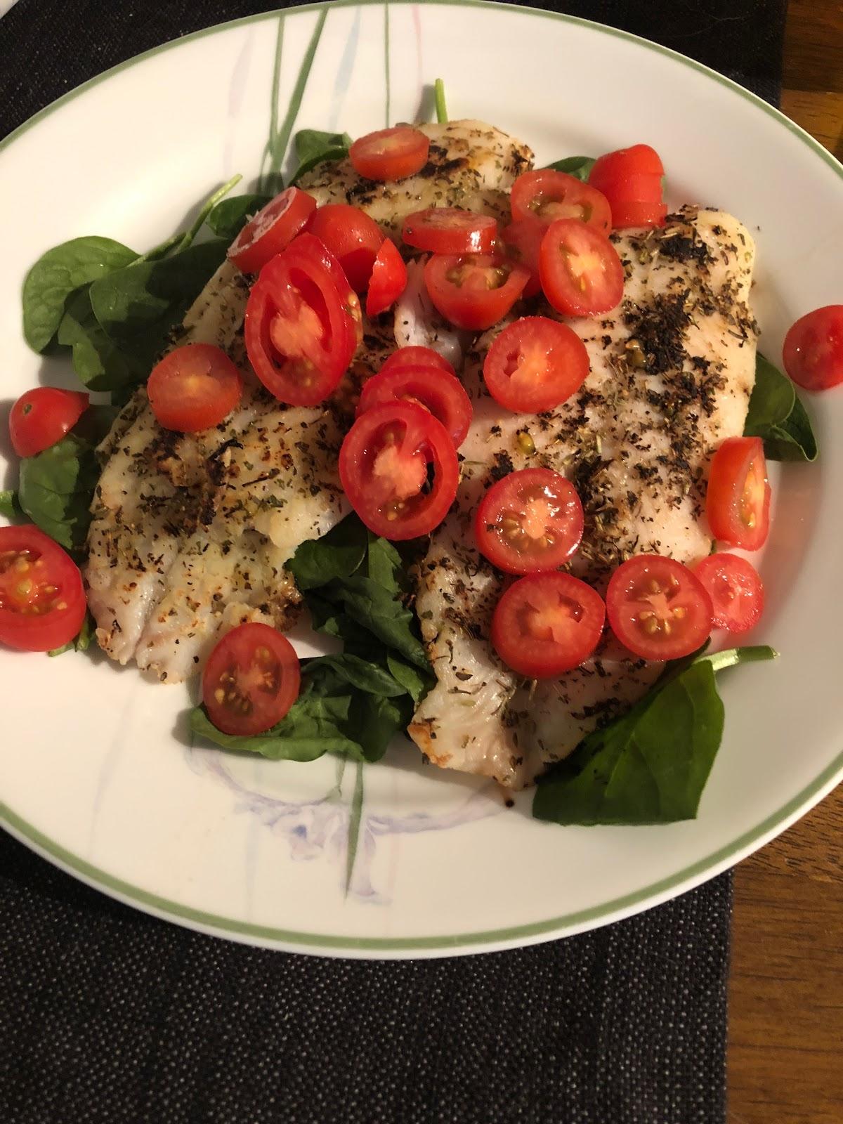 fish, dinner, health
