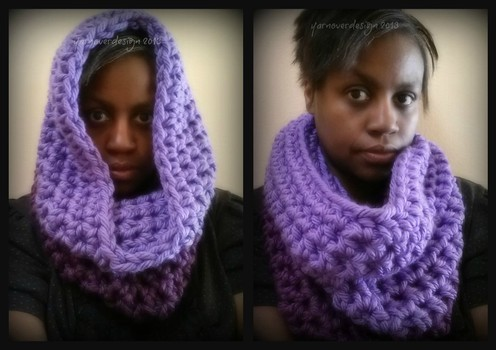 12 days of DIY crochet gifts to make: Day 10- large chunky cowl