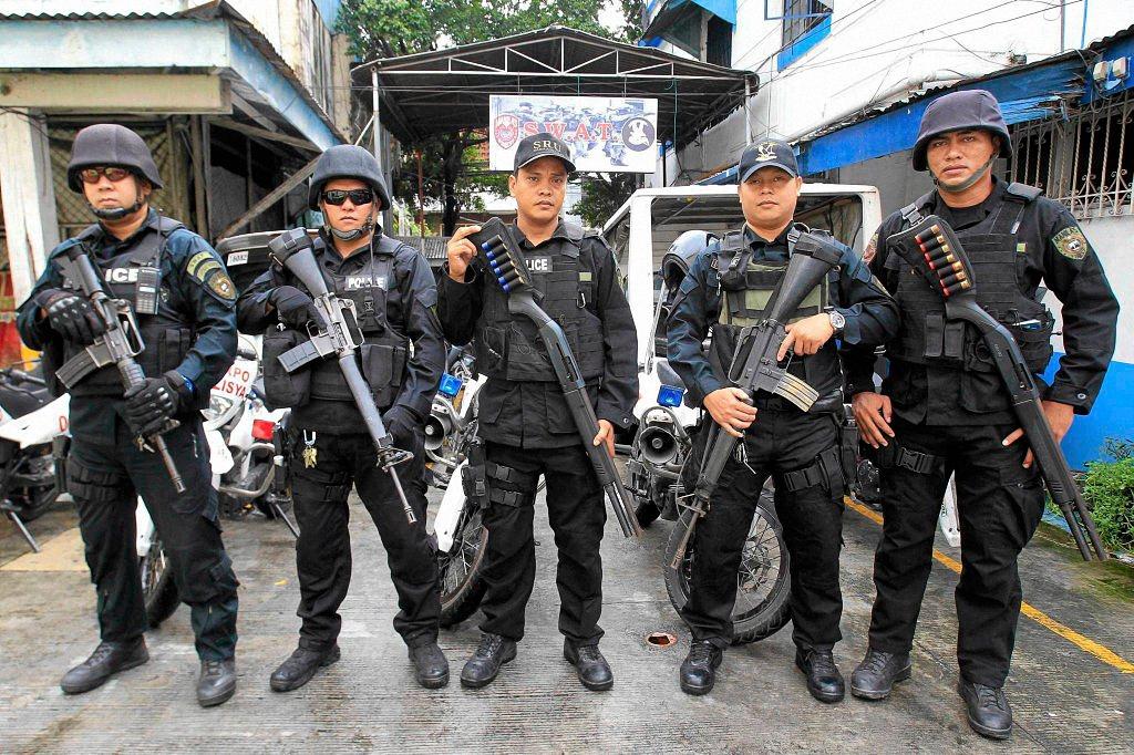 Применение оружия полицией-3