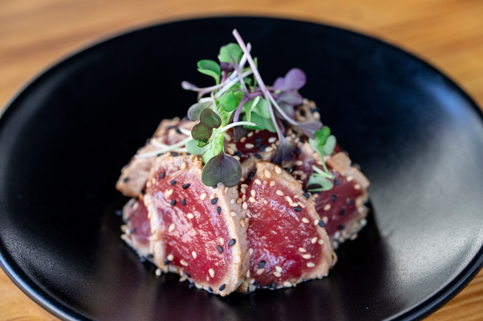 Tataki de atun de La Gastronomica Barcelona