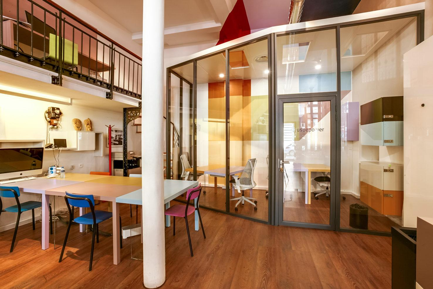 Patchwork Co-Working Office Space in Paris