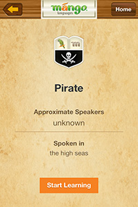 You Can Even Learn How to Speak Like a Pirate