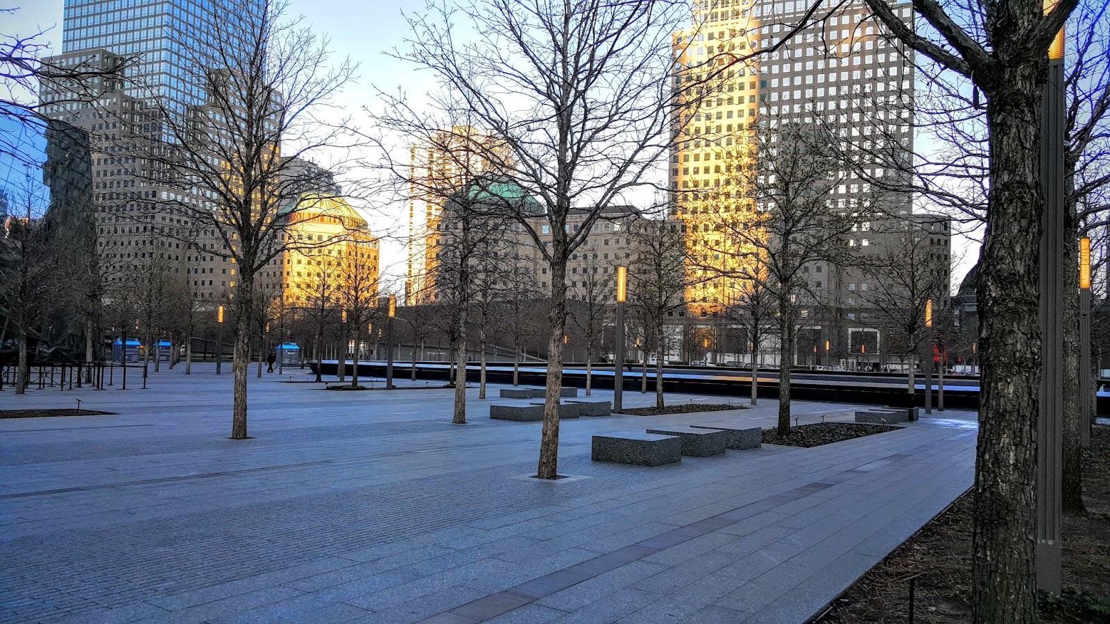 Early morning at WTC