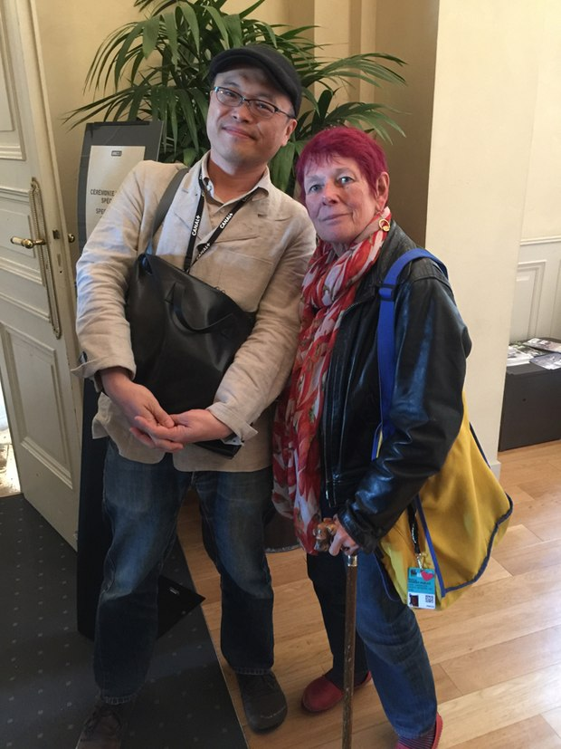 Koji Yamamura and Nancy