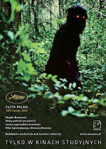 Polski plakat filmu 'Wujek Boonmee, Który Potrafi Przywołać Swoje Poprzednie Wcielenia'