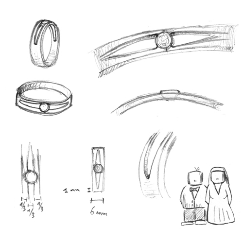 ring sketches for proposal
