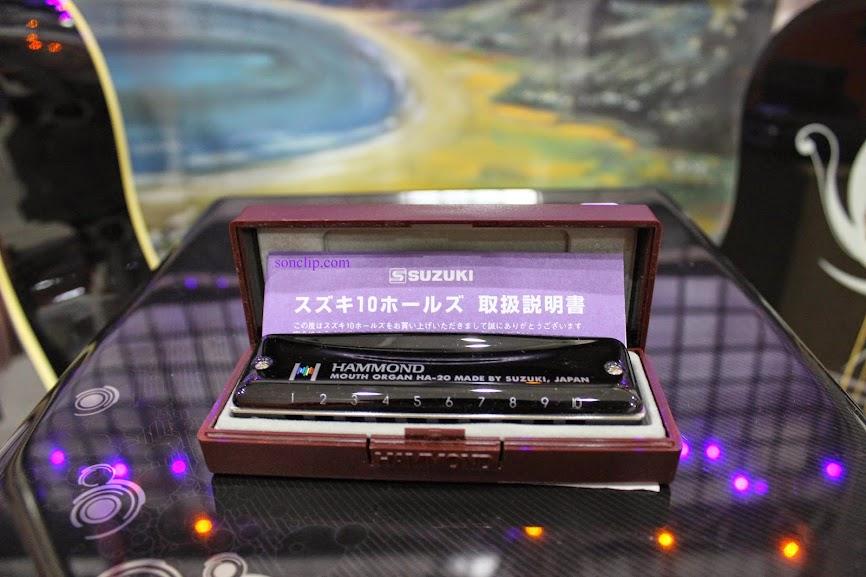 Kèn Harmonica - Suzuki Promaster Hammond HA-20 (key C)