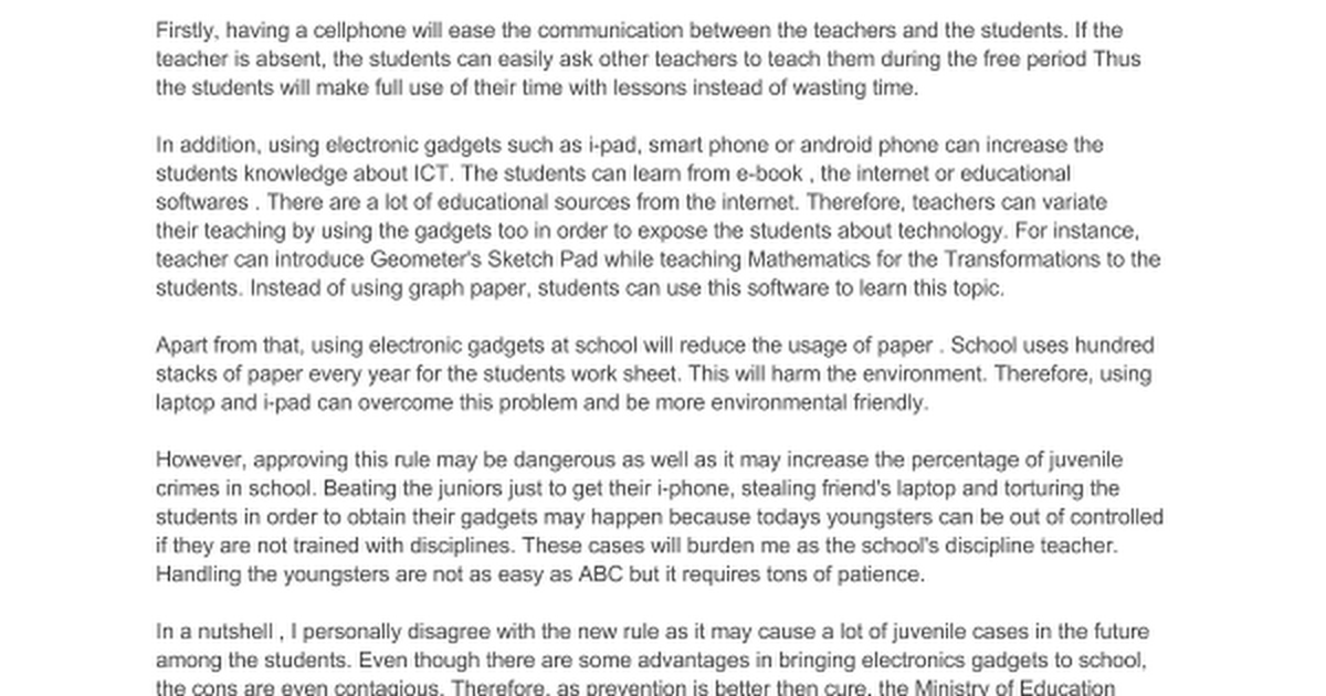 persuasive essays on cellphones in school Master thesis for 6th grade persuasive essay topic of a type of persuasive essay: cell phones regulate use college essays on the school to write an essay organizer pdf.