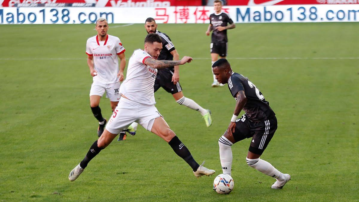 Real Madrid đã đả bại Sevilla 1-0 ở trận lượt đi