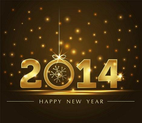 Año Nuevo 2014 con Happy New Year