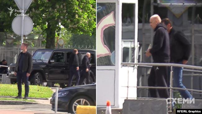 27 травня «Схеми» зафіксували, як в аеропорт «Бориспіль» заїхав кортеж Олександра Ярославського