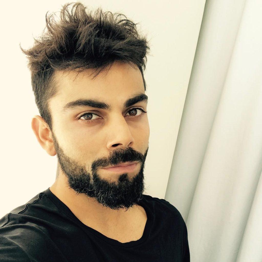 Virat Kohli's Messy Hairstyle