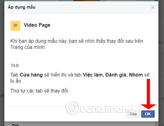 Ứng dụng mẫu Video Page
