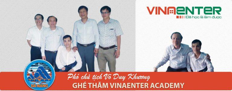 Vinaenter chào đón phó chủ tịch Võ Duy Khương ghé thăm