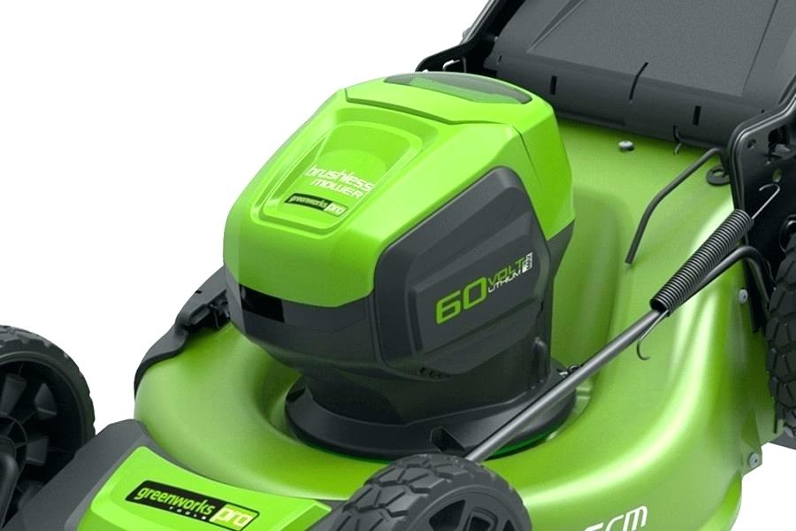 Remember to check the mower's battery to see how easy it is to manage.