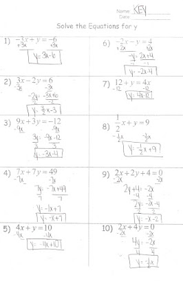 Solving systems of equations by elimination homework