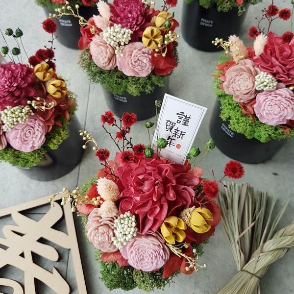 台北花藝課程-海藏設計