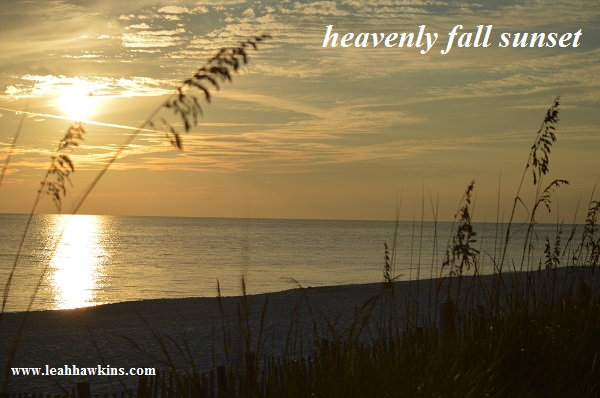 heavenly fall sunset
