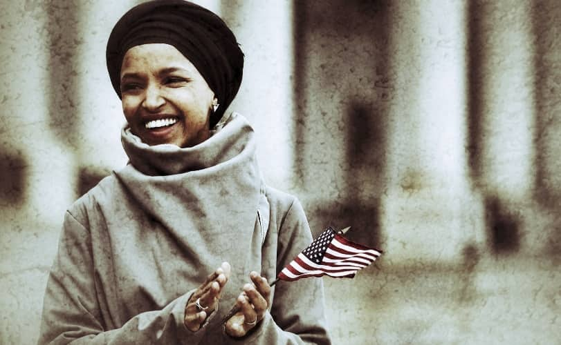 Ilhan Omar is a congresswoman who stands for equal rights of miniorities in America.