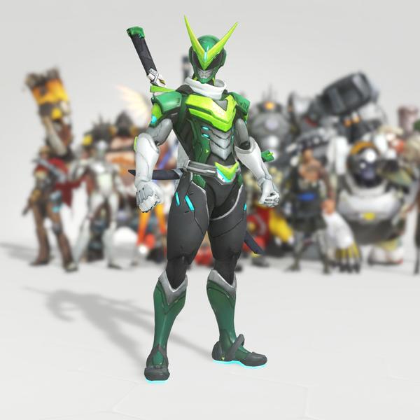 Sentai Genji Skin