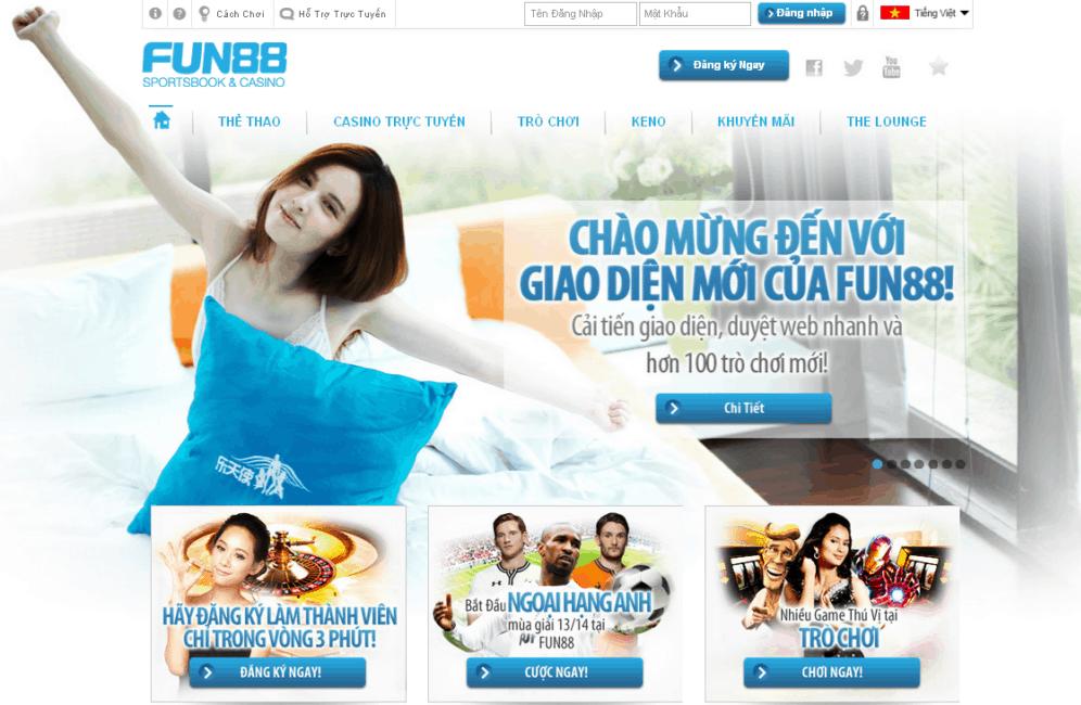 Fun88 - Link vào Nhà cái Fun88 mới nhất 2020 | Diachibet.com