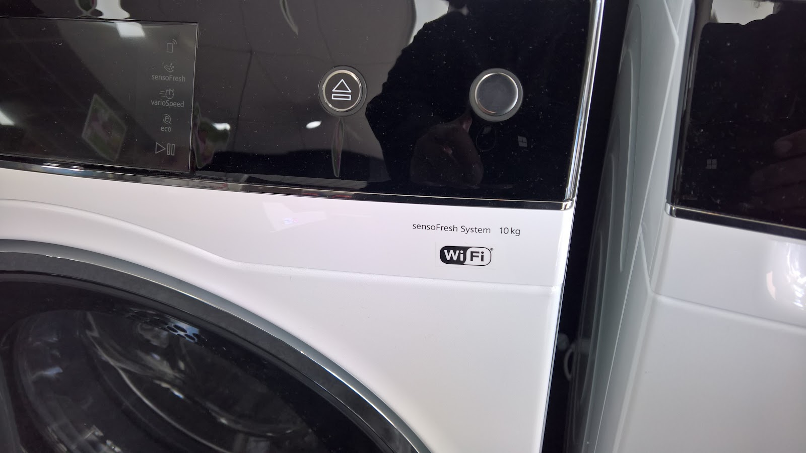 Washing Machine with Wi fi enabled