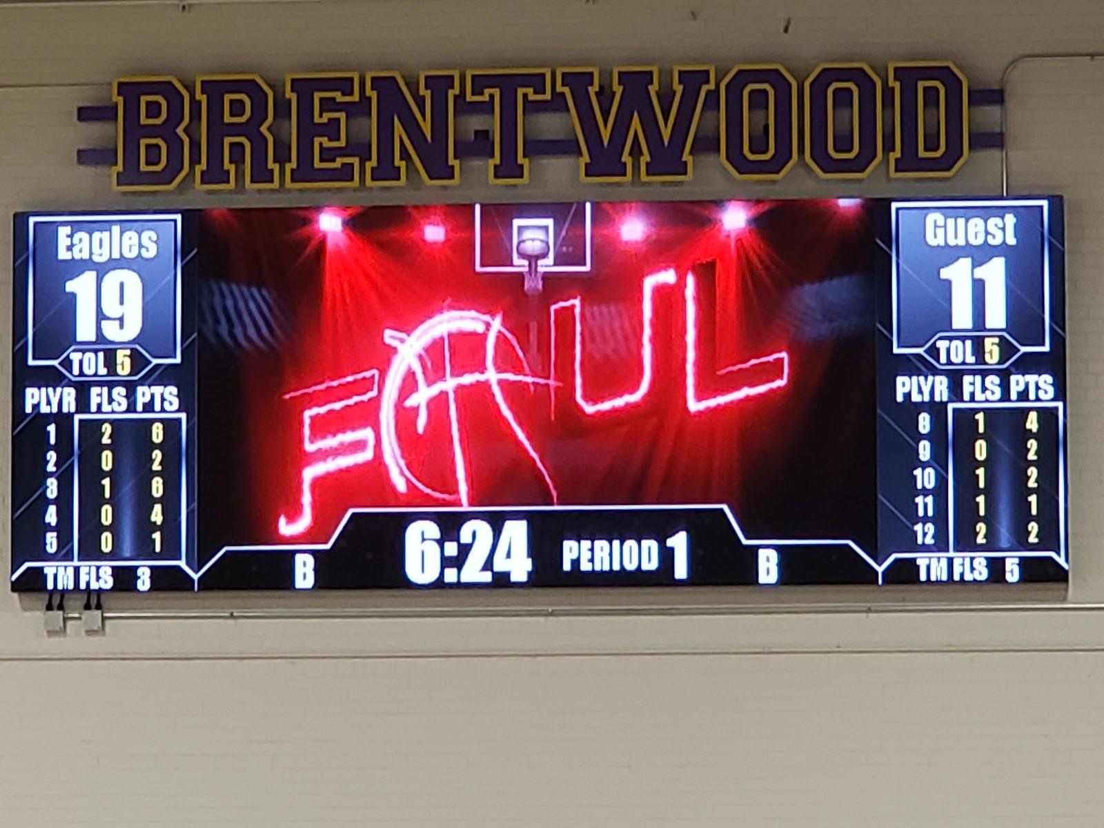 BHS Scoreboard