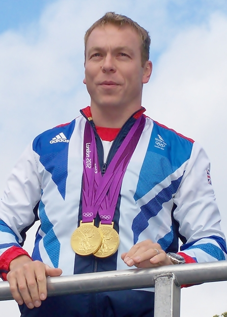 Chris Hoy at the Homecoming