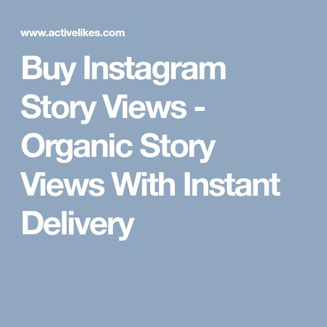 Buy Instant Instagram Story Views