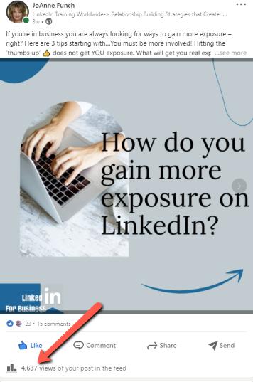 LinkedIn Post Analytics
