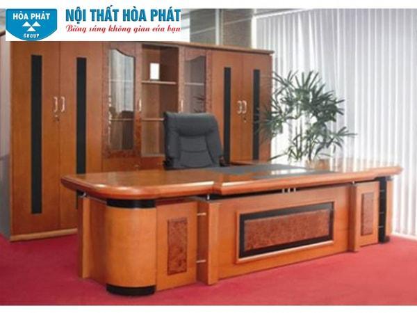 Bộ bàn tủ giám đốc Hòa Phát DT-3200