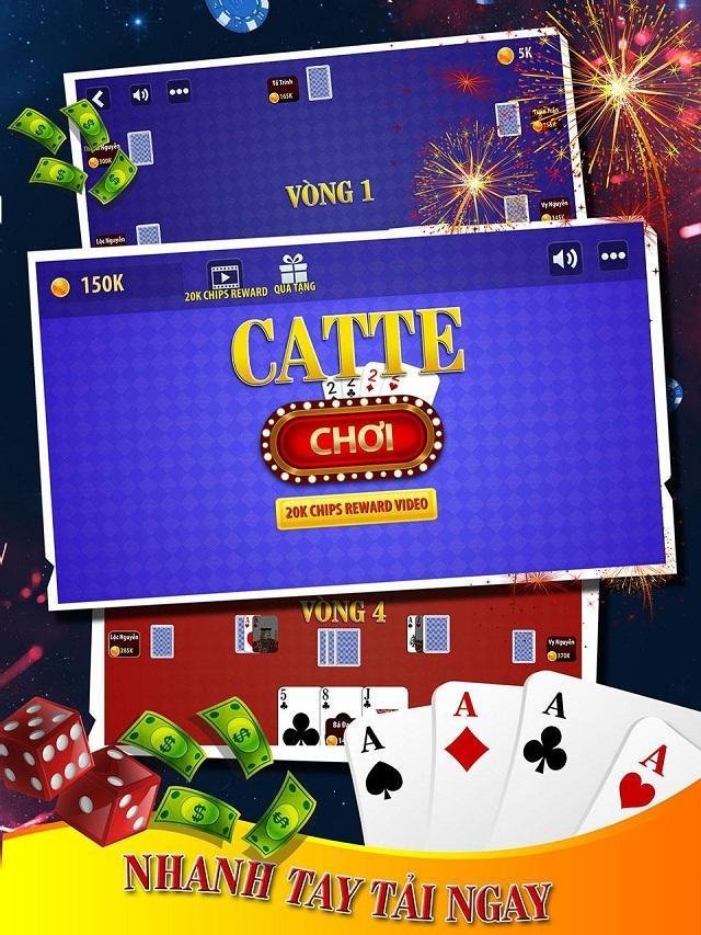 đánh bài catte là gì