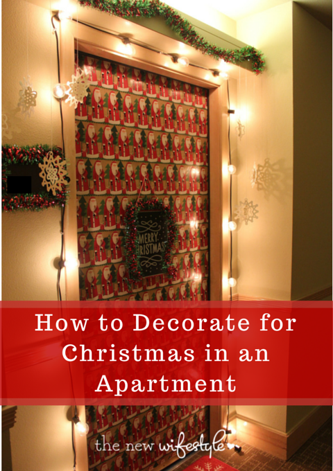 Resultado de imagen para christmas decorations for apartments