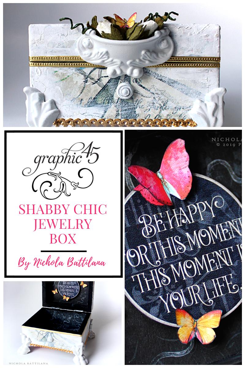 Tutorial Shabby Chic Diy Jewelry Box