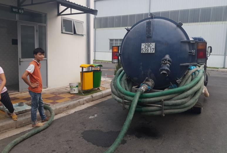 Dịch vụ hút bể phốt tại Bảo Khang đảm bảo uy tín và chuyên nghiệp