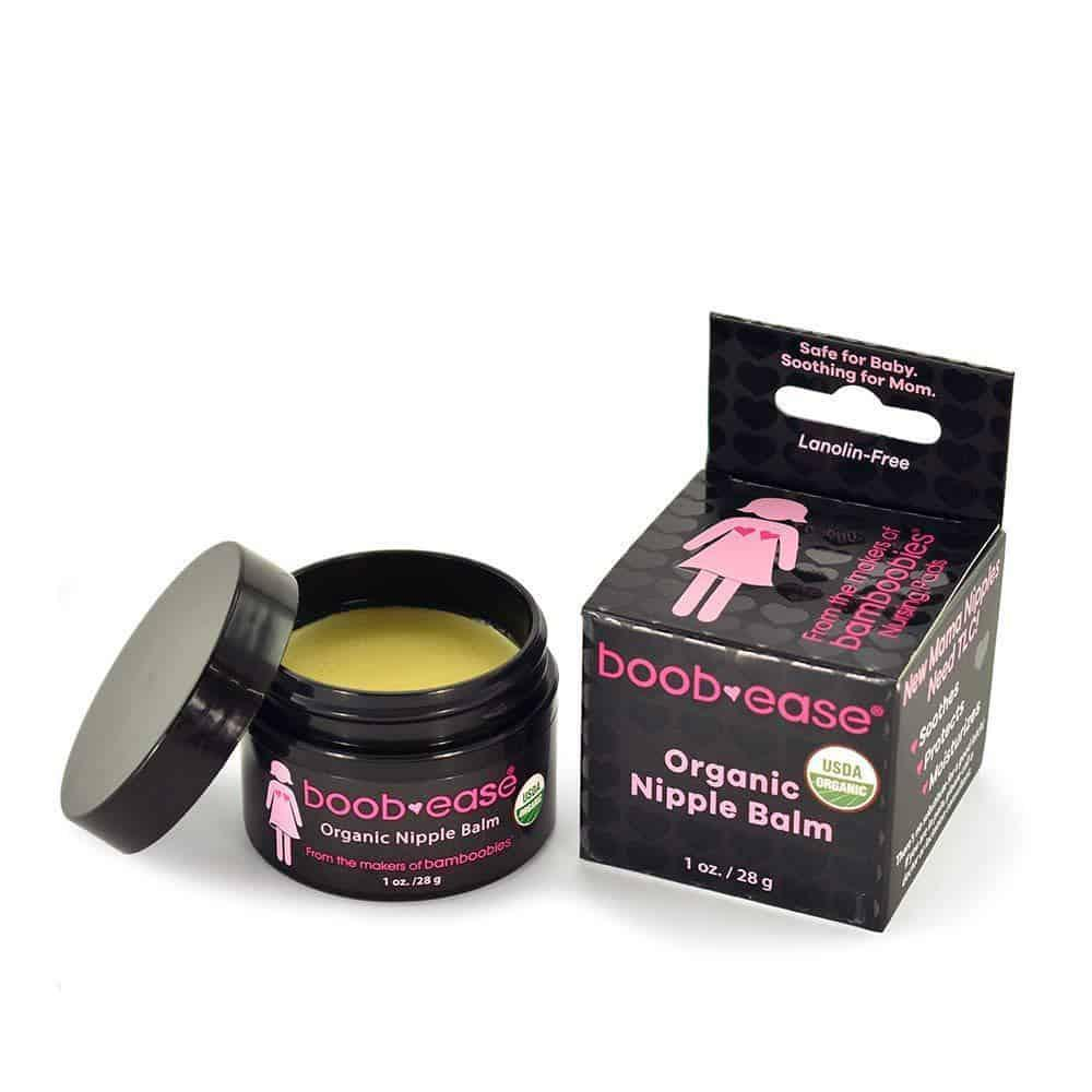 Boobease Organic Nipple Cream  Daily mom parent portal Gifts for People who are Hard to Buy for