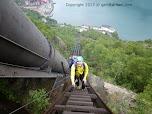 Трубы гидроэлектростанции в Тисседале