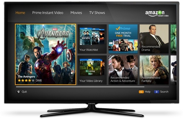 How can I watch Amazon Prime on my TV