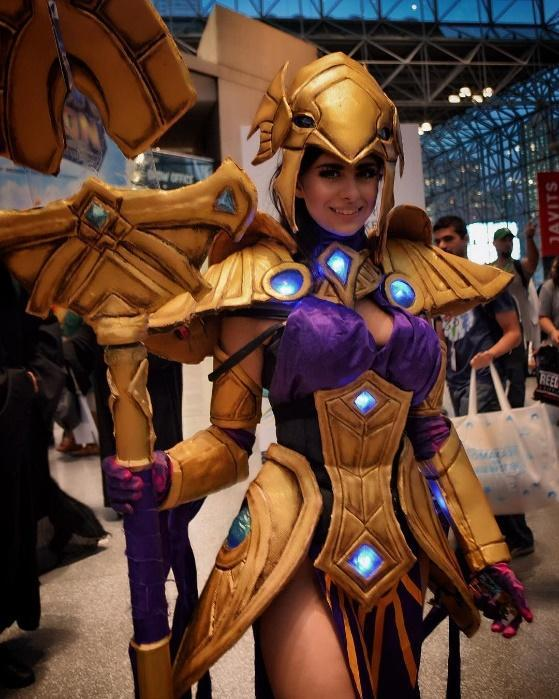 Great #azir #cosplay by @azzyland during New York Comic con #nycc ...